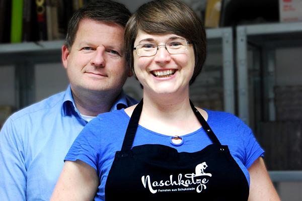Daniela und Ingo Brüggen sind Naschkatze Münster