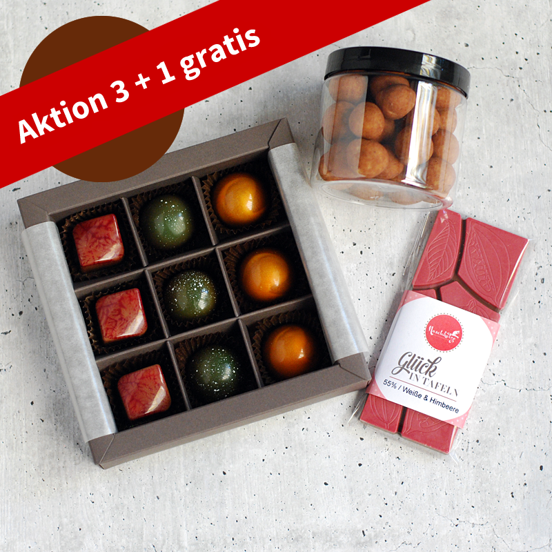 Pralinenabo / Schokoladenabo (25 €) mittel für 3 Monate Gratisversand