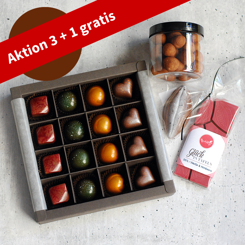 Pralinenabo / Schokoladenabo (35 €) groß für 3 Monate Gratisversand