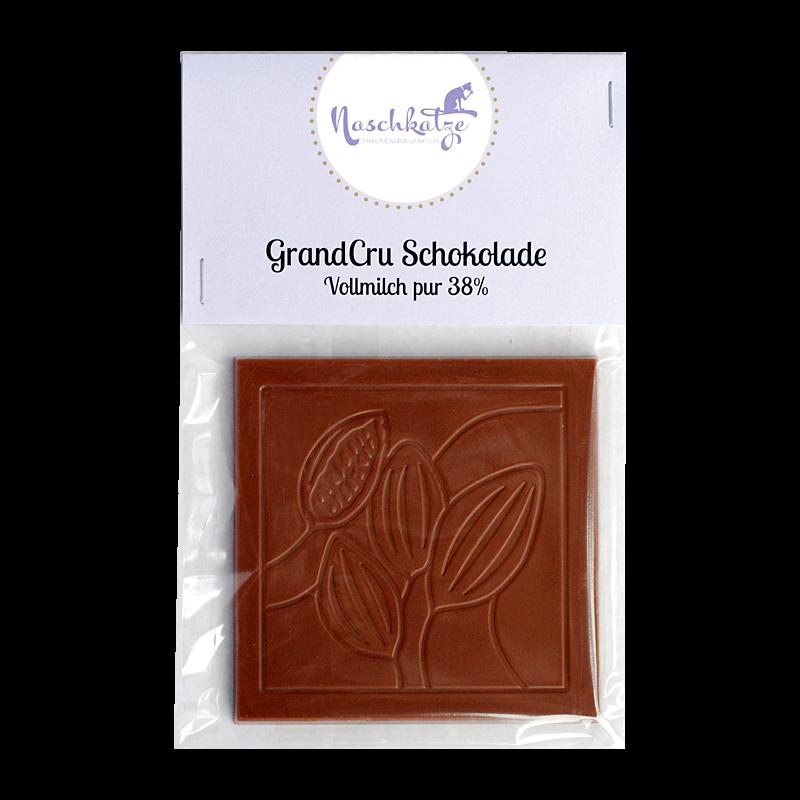 Schokoladentafel Vollmilch pur 38%