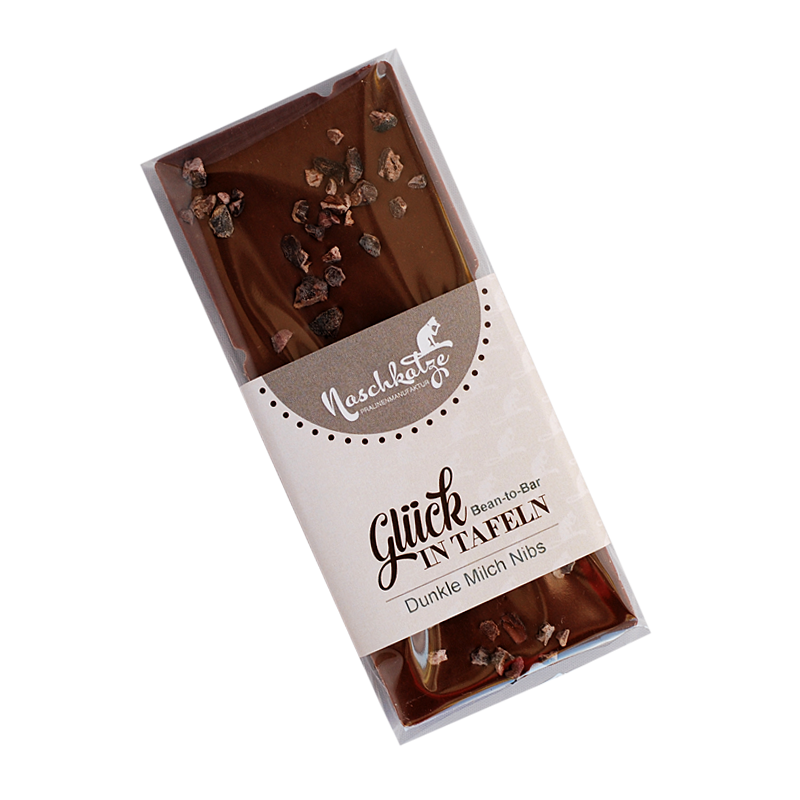 Bean to Bar Dunkle Milch mit rohen Kakaonibs - jetzt lieferbar!
