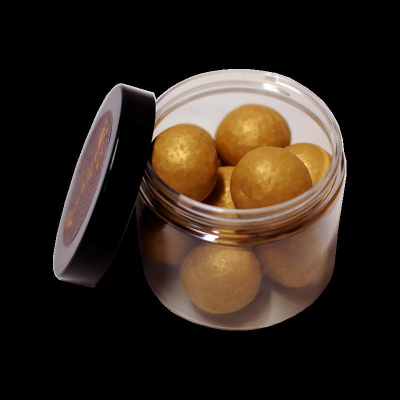 LuxusNuss Macadamias in Dulcey Karamellschokolade (120g)