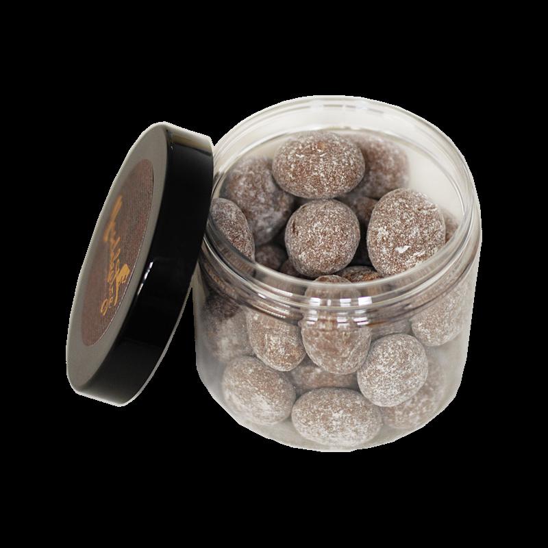 LuxusNuss Marcona Mandeln in Vollmilchschokolade mit Spekulatius (120g) - jetzt lieferbar!