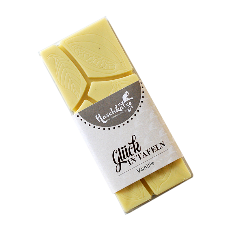 Schokoladentafel Vanille