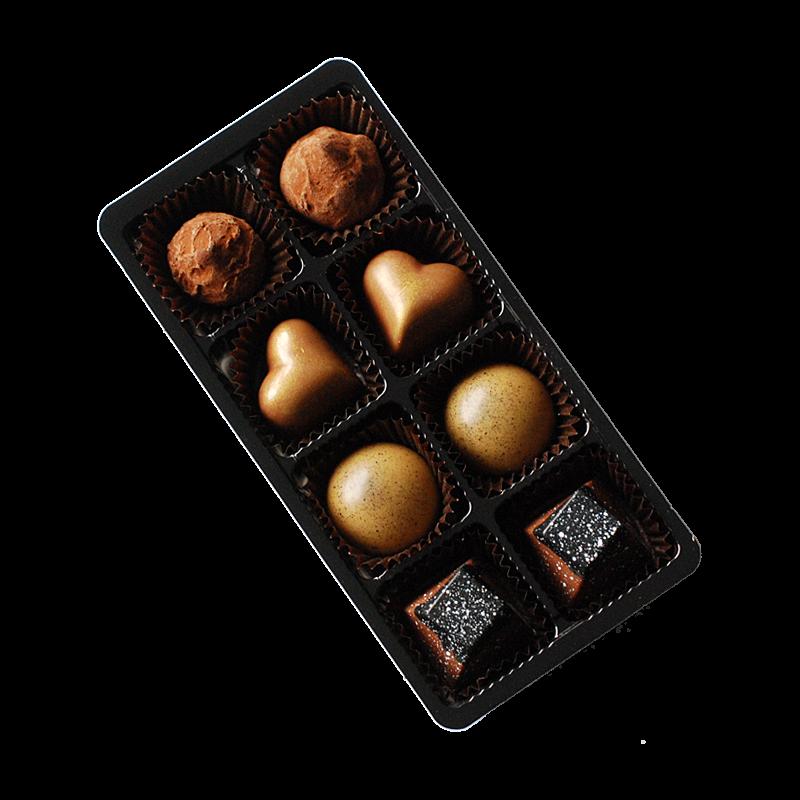 8er Packung Pralinen gemischt (frisch aus der Produktion)