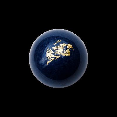 Wunschpraline mit Blattgold und Wunschfarbe (Stückpreis)