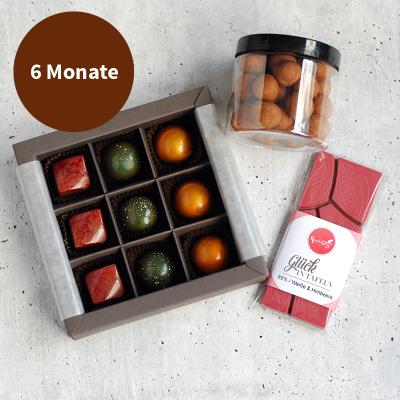 Pralinenabo / Schokoladenabo (25 €) mittel für 6 Monate Gratisversand