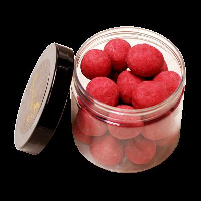 LuxusNuss Macadamias in Himbeerschokolade (120g)